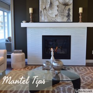 Mizell Interiors Living Room Mantel