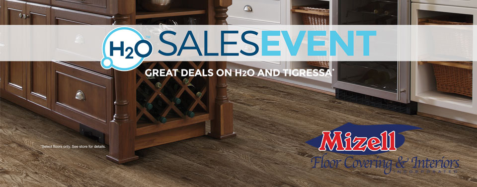 Join Us For Our H2O Sales Event