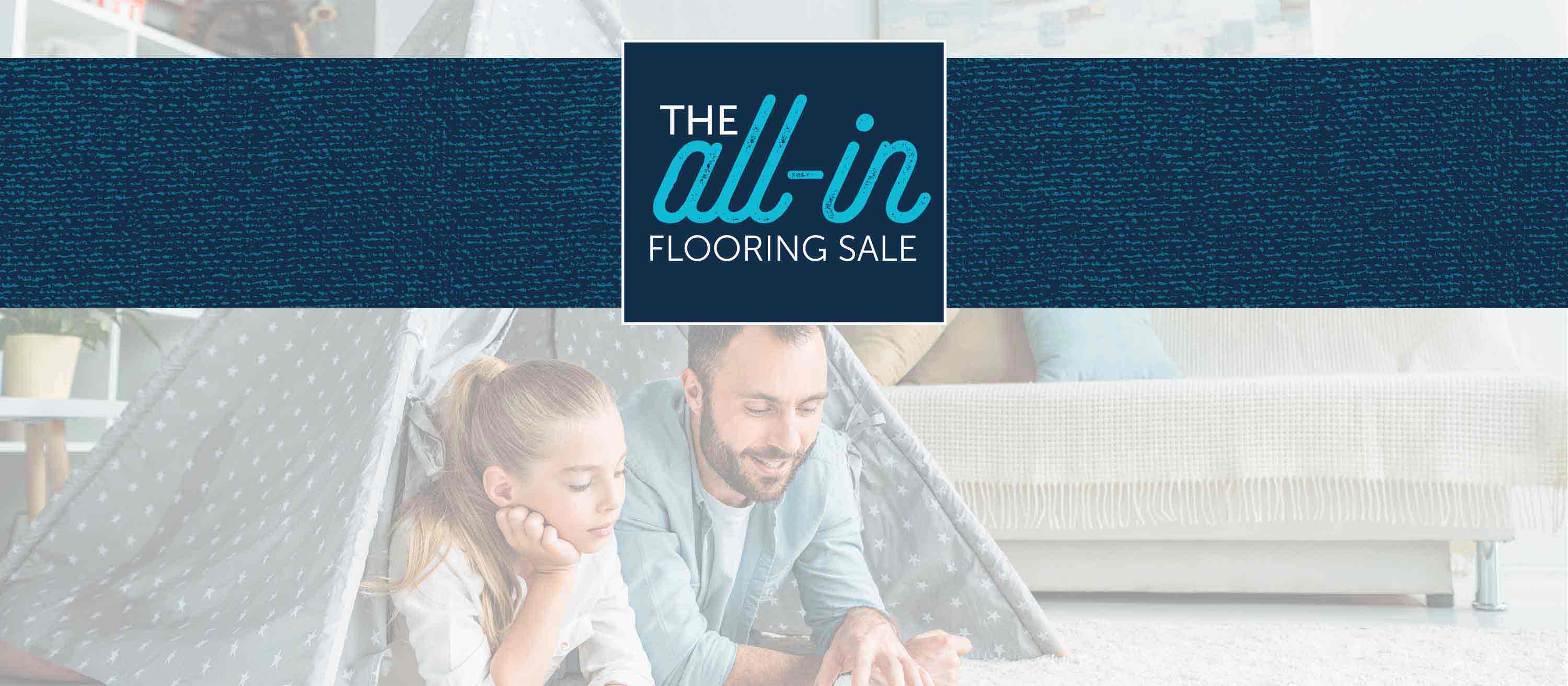All In Flooring Sale Banner